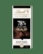 Chocolat noir Lindt EXCELLENCE à 78 % de cacao – Barre (100 g)