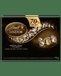 Truffes LINDOR au chocolat noir à 70 % de cacao de Lindt – Boîte-cadeau (156 g)