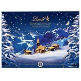 Chocolats assortis Village hivernal de Lindt– Boîte-cadeau (469g)