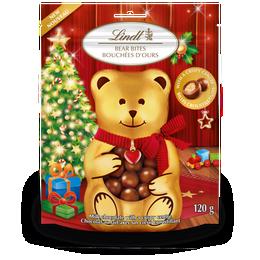 Lindt Milk Chocolate Bear Bites, 120-Gram Bag