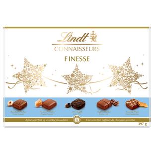 Lindt CONNAISSEURS FINESSE Assorted Chocolates Box 397g