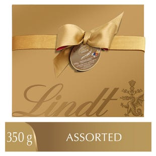 Lindt LINDOR Deluxe Assorted Chocolate Truffles Box 350g