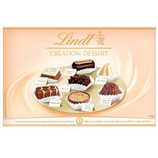 Lindt CREATION DESSERT Assorted Chocolate Gift Box 170g