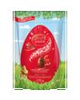 Œufs en chocolat au lait LINDOR de Lindt - Sac de 120 g