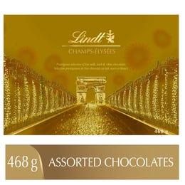 Chocolats assortis Lindt CHAMPS-ÉLYSÉES – Boîte-cadeau (468 g)