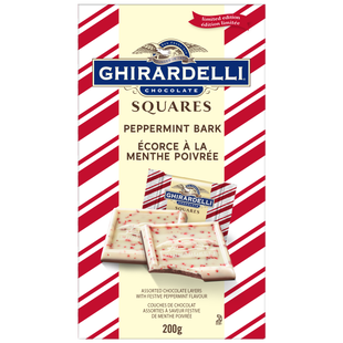 GHIRARDELLI Peppermint Milk Bark Squares