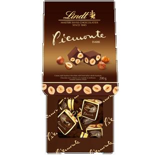 Lindt Piemonte MAITRE CHOCOLATIER Hazelnut Dark Chocolate Bag 200g