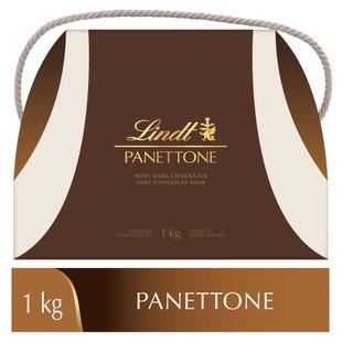 PANETTONE Lindt au chocolat noir– Boîte-cadeau (1kg)