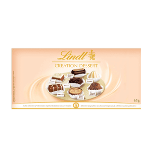 Lindt CREATION DESSERT Assorted Chocolate Box 65g