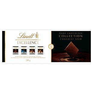 Collection EXCELLENCE chocolat noir de Lindt