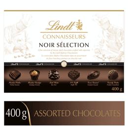 Chocolats noirs assortis Lindt CONNAISSEURS NOIR SELECTION– Boîte-cadeau (400g)