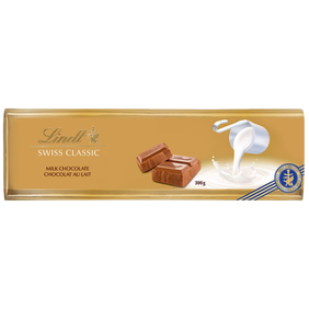 Lindt SWISS CLASSIC Gold Milk Chocolate Bar