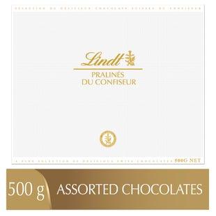 Pralinés assortis Lindt PRALINÉS DU CONFISEUR– Boîte (500g)