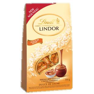 Lindt LINDOR Dulce De Leche Milk Chocolate Truffles, 150-Gram Bag
