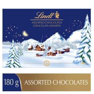 Chocolats assortis Merveille d'hiver de Lindt– Boîte-cadeau (180g)