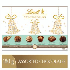 Lindt CONNAISSEURS Assorted Chocolates Gift Box