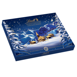 Lindt Christmas Alpine Village Assorted Chocolate Gift Box, 469 Grams
