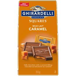 GHIRARDELLI Caramel Milk Chocolate Squares Bag 151g