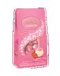 Lindt LINDOR Strawberries and Cream White Chocolate Truffles Bag 150g