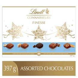 Chocolats assortis Lindt CONNAISSEURS FINESSE – Boîte (397 g)