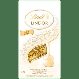 Lindt LINDOR White Chocolate Truffles Bag 150g