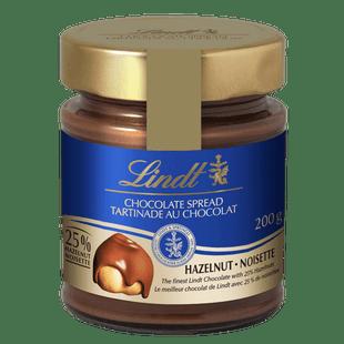 Lindt chocolate spread jar